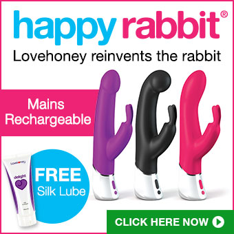 The rechargeable Lovehoney Happy Rabbit - true innovation