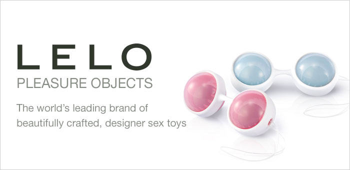 Lelo the world's leading brand of beautifully crafted, designer sex toys