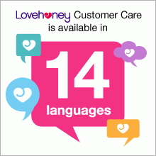 Lovehoney Customer Care is available in 14 languages