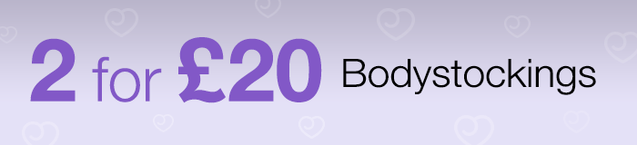 2 for £20 bodystockings