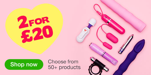 ^ 2 for 20 Sex Toys - Choose from 50+ products