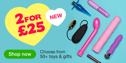 ^ NEW! 2 for £25 toys and gifts