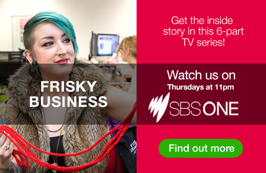 Watch our TV series Frisky Business on SBS1