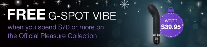 free FSOG g-spot vibe