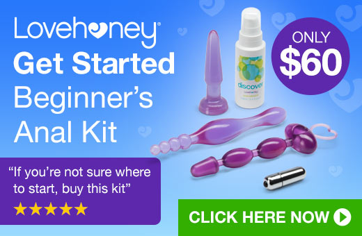 ^Lovehoney Get Started Beginner's Anal Kit