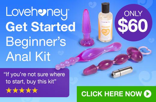 Lovehoney Get Started Anal Kit