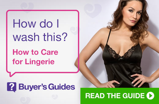 How do I was this? How to Care for Lingerie Buyer's Guide