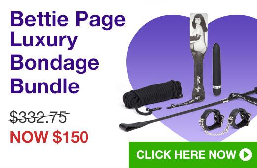 Bettie Page Luxury Bondage Bundle