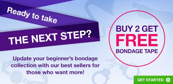 ^Ready to take the next step? Buy 2 get free bondage tape