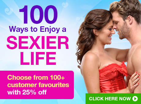 ^100 Ways to Enjoy a Sexier Life - 25% off