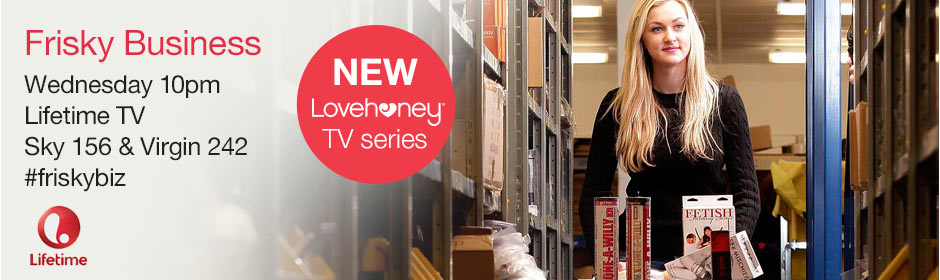 Frisky Business on Lifetime TV - Lovehoney Documentary