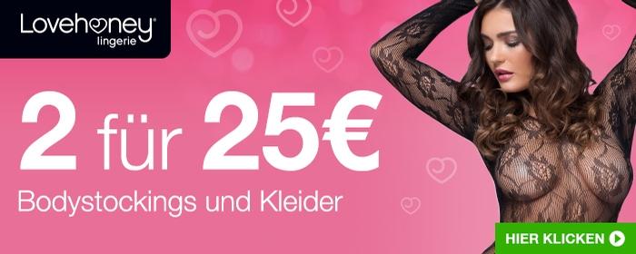 ^ 2 für 30€ Bodystockings and Kleider