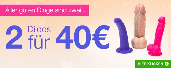 ^ 2 Dildos für 40€
