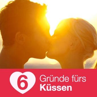 6 gute Gründe fürs Küssen