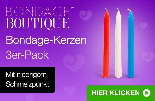 Bondage Boutique Bondage-Kerzen 3er-Pack