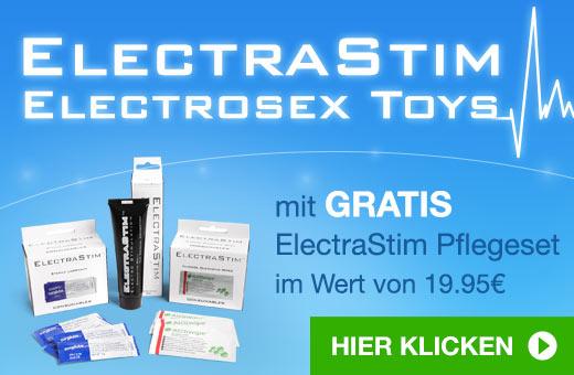 ElectraStim Electrosex Toys mit Gratis ElectraStim Pflegeset
