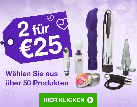 Sextoys und sexy Geschenke - 2 Artikel für 25€