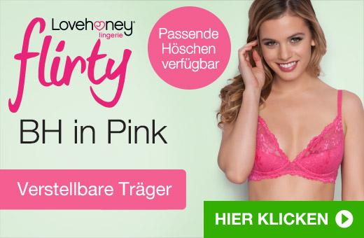 Lovehoney Flirty BH in Pink