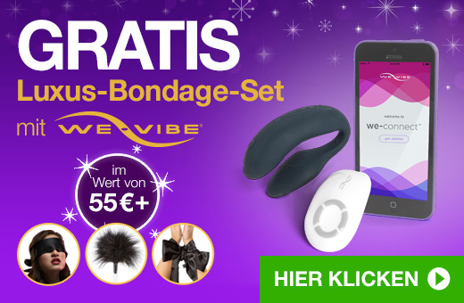 GRATIS Luxus-Bondage-Set mit We-Vibe