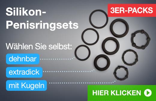 ^ Silikon-Penisringsets