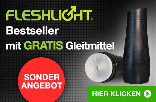 ^ Fleshlight Bestseller mit GRATIS Gleitmittel