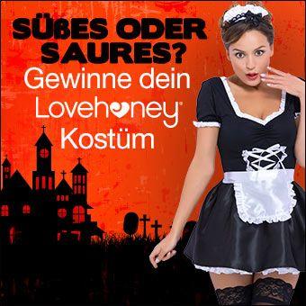 Halloween Gewinnspiel: Gewinne dein Kostüm von Lovehoney