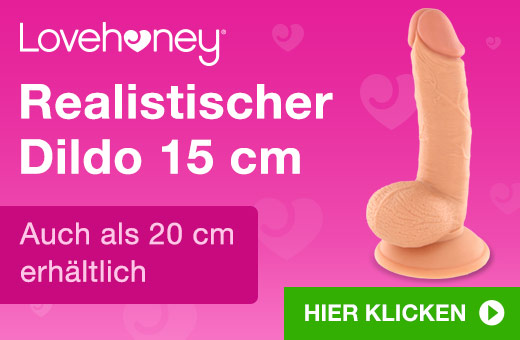 Lovehoney Realistischer Dildo 15 cm