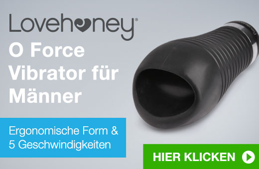 ^ Lovehoney O Force Vibrator für Männer