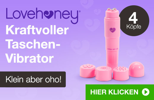 Lovehoney Kraftvoller Taschen-Vibrator