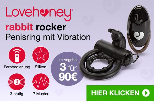 Lovehoney Rabbit Rocker Penisring mit Vibration