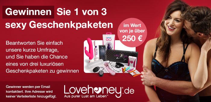 Lovehoney.de Sex-Tagebuch Umfrage und Gewinnspiel