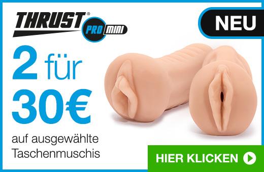 2 Taschenmuschis für 30€