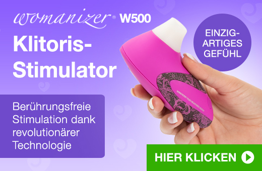 ^ Womanizer W500 Klitoris-Stimulator