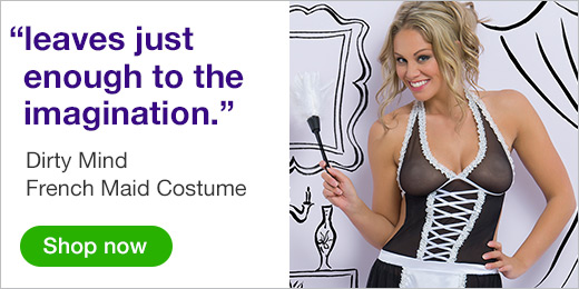 ^Dirty Mind French Maid Costume