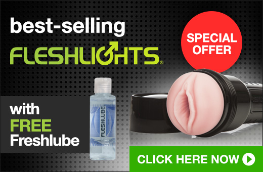 Best-selling Fleshlight with FREE lube
