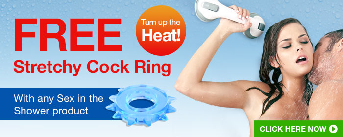 Sex in the Shower - Free Stretchy Cock Ring