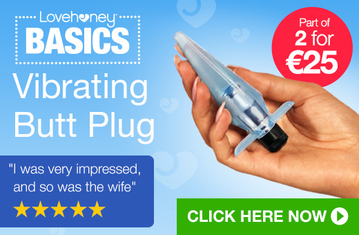 Lovehoney BASICS Vibrating Butt Plug