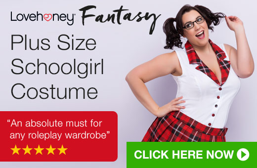 Lovehoney Fantasy Plus Size Schoolgirl Costume