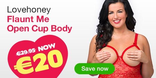 Lovehoney Flaunt Me Open Cup Body