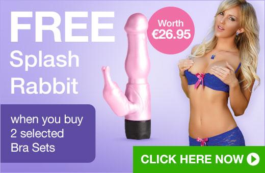 FREE Splash Rabbit when you buy 2 selected Bra Sets
