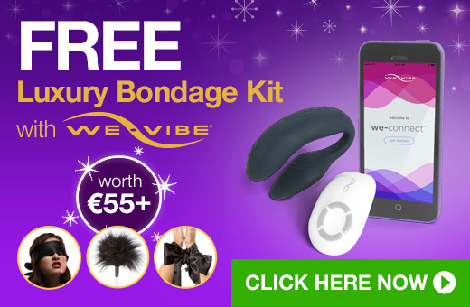 FREE Luxury Bondage Kit with We-Vibe