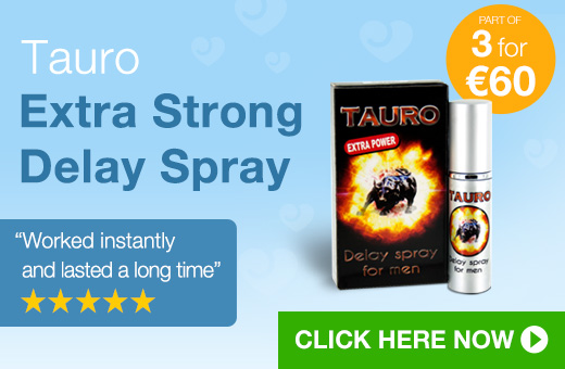 Tauro Extra Strong Delay Spray