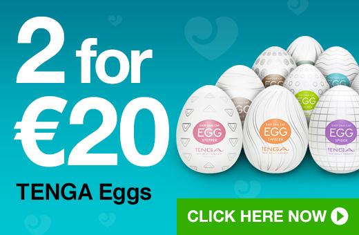2 for €20 TENGA Eggs