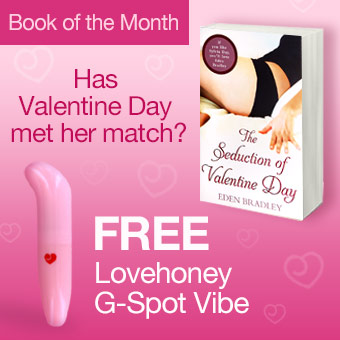 Lovehoney's Book of the Month: Get a Free Gift with every copy of The Seduction of Valentine Day