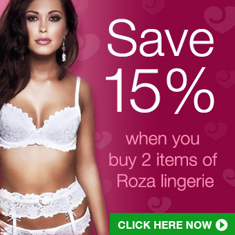 15% off Roza lingerie