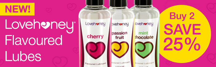New Lovehoney Flavoured Lubes