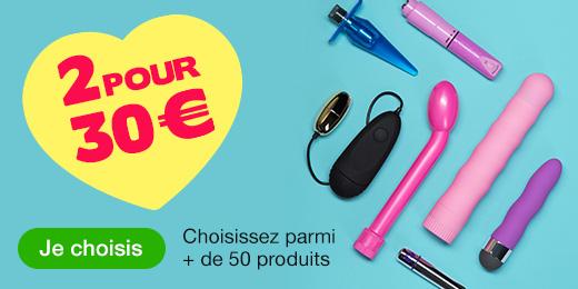 ^ 2 pour 30€ - Choisissez parmi plus de 50 toys et cadeaux