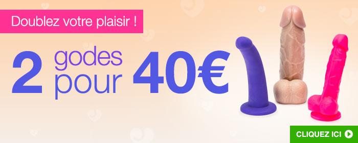 ^ 2 godes pour 40 €