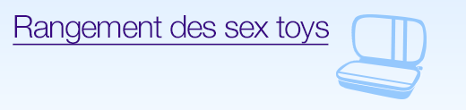 Rangement des sex toys