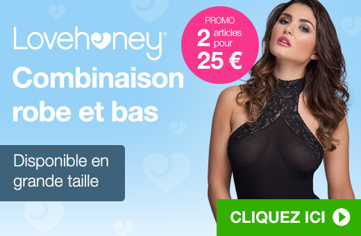 Lovehoney Combinaison robe et bas